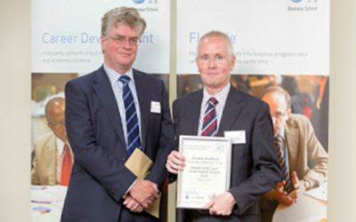 Open University Alumnus of the Year 2014 Jeremy Roebuck!