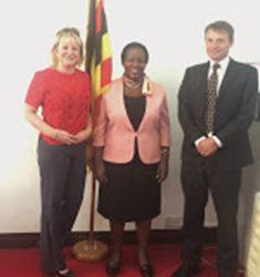 Meeting the Ugandan High Commissioner
