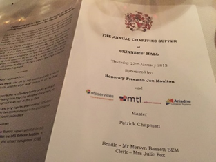 Worshipful Company of Management Consultants Charity Evening