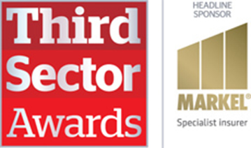 Shortlisted for 3 Third Sector Excellence Awards